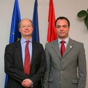 Talks with the Director General of the Department for Business, Innovation and Skills of the UK Government