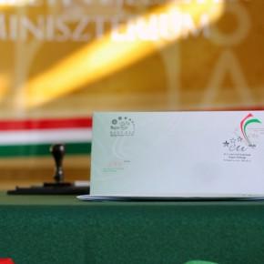 EU-bélyegeket adott ki a Magyar Posta