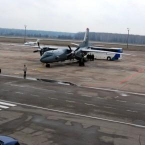 Antonovval Oroszország felett