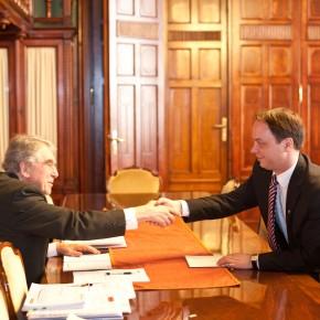 Találkozás a miniszterrel