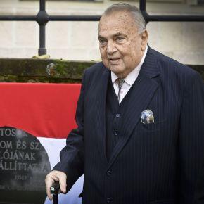 Bőzsöny Ferenc 1956-ra emlékezett Egerben