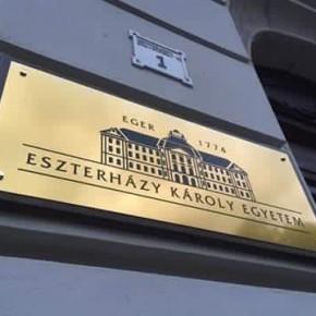 Eger újabb sikere, az Eszterházy Károly Egyetem