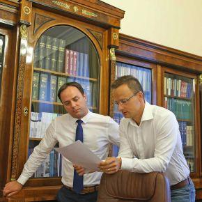 Törökországi útja előtt találkozott Szijjártó Péterrel Nyitrai Zsolt