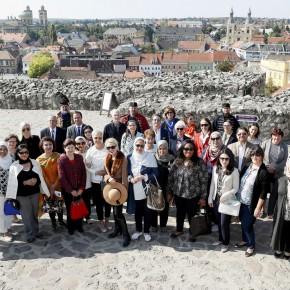 Nagykövetek feleségei látogattak Egerbe