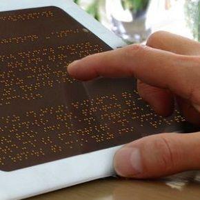 Teljes konszenzus övezte a Braille-eszközök áfacsökkentését