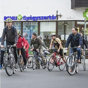 Mostantól Egertől Poroszlóig tekerhetnek a kerékpárosok